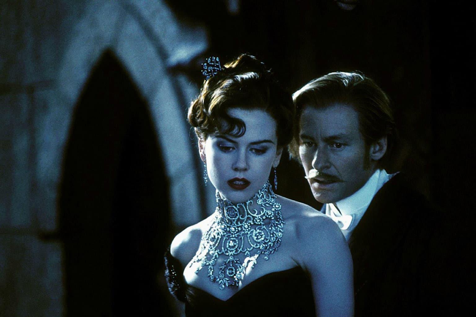 妮可·基德曼佩戴着由史蒂芬诺·坎特瑞打造的天然钻石项链