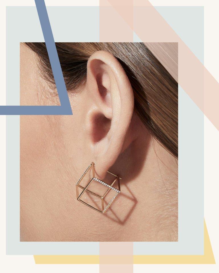 瓦莱丽·梅西卡设计的耳环