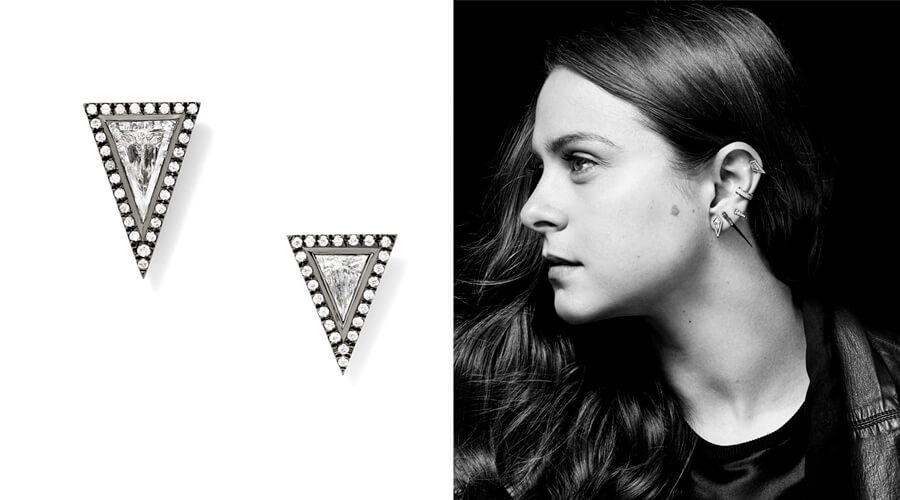 伊娃·祖克曼和她设计的天然钻石首饰