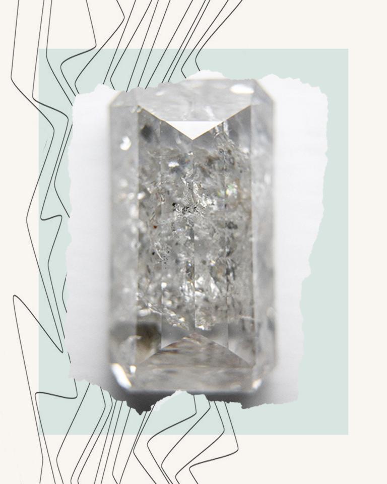 椒盐灰系列天然钻石
